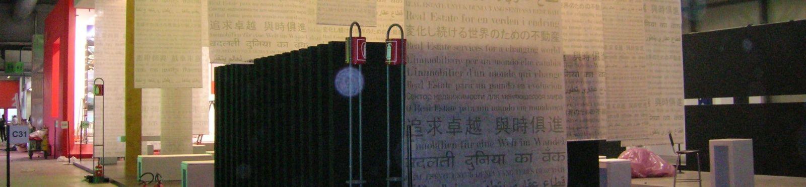 Stampare cotone per fiera