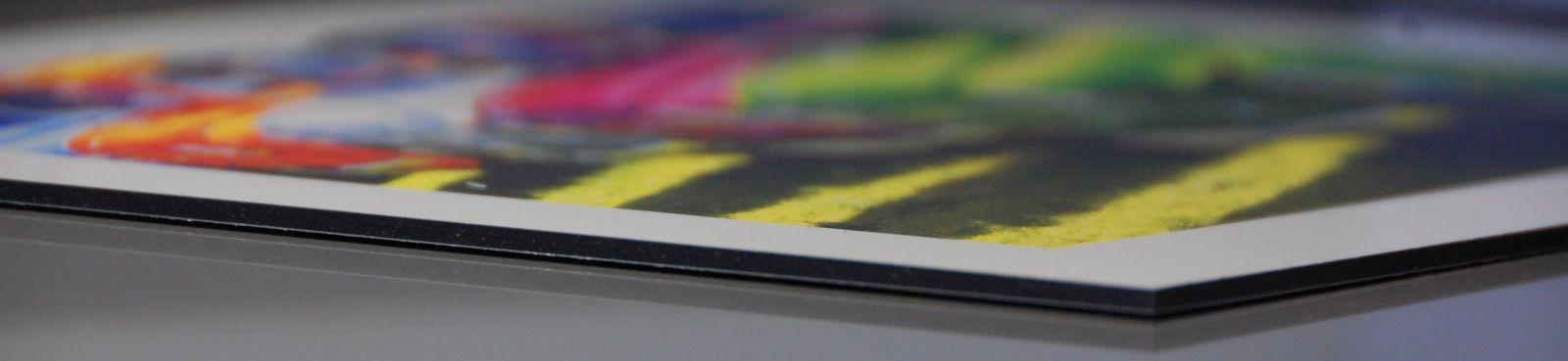 Stampare su pannello dibond alluminio